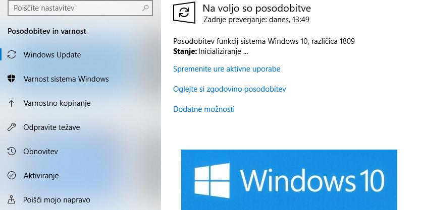 Zmeda in presenečenja ob posodobitvah Windows 10