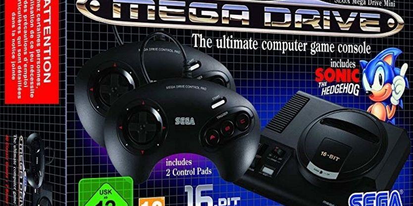SEGA Mega Drive Mini končno na voljo tudi pri nas !