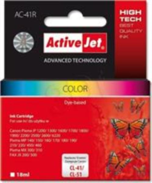 ActiveJet barvno črnilo Canon CL-41/51