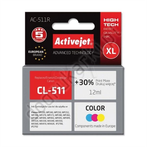ActiveJet barvno črnilo Canon CL-511