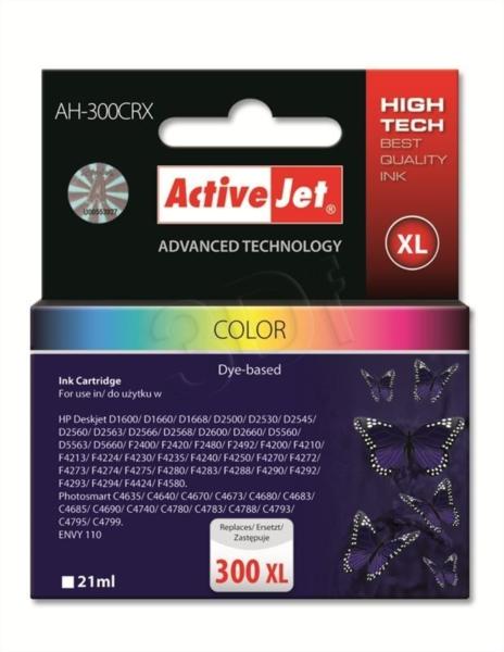 ActiveJet barvno črnilo HP CC644 300XL
