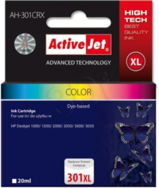 ActiveJet komplet barvnih črnil HP CB338 351XL