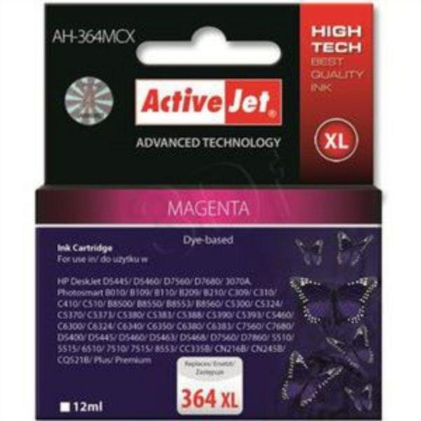 ActiveJet magenta črnilo HP CB324EE 364 XL