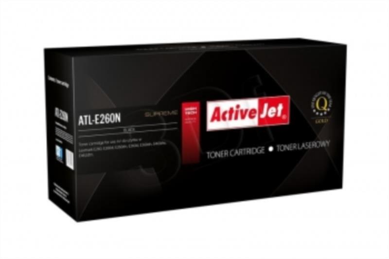 ActiveJet črn toner Lexmark E260A11E