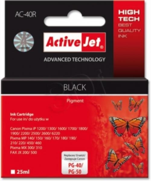 ActiveJet črno črnilo Canon PG-40/50