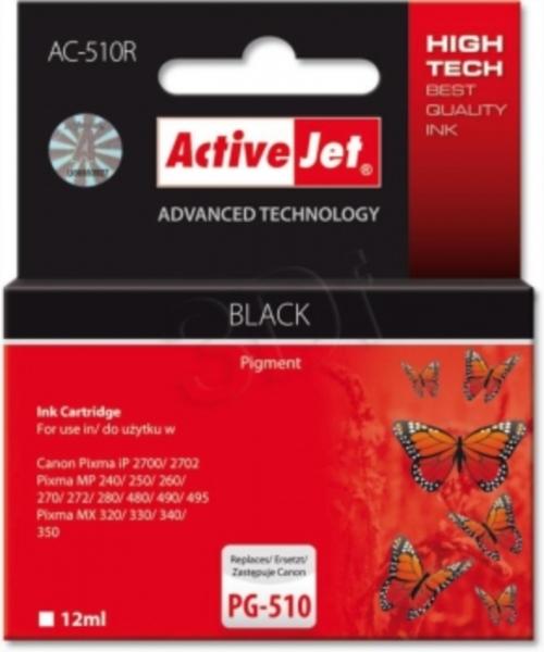 ActiveJet črno črnilo Canon PG-510