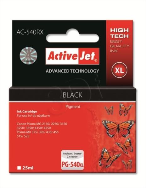 ActiveJet črno črnilo Canon PG-540XL