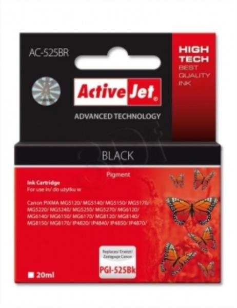 ActiveJet črno črnilo Canon PGI-525B