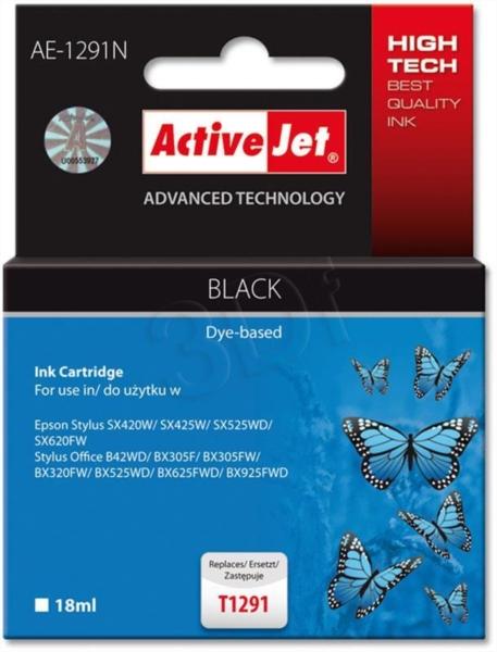 ActiveJet črno črnilo Epson T1291