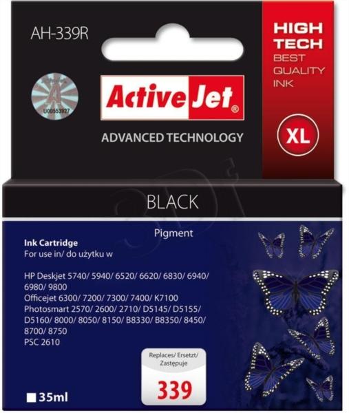 ActiveJet črno črnilo HP C8767EE 339