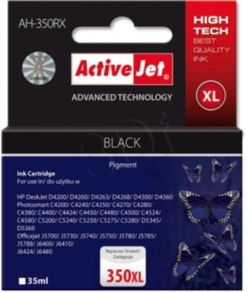 ActiveJet črno črnilo HP CB336 350XL