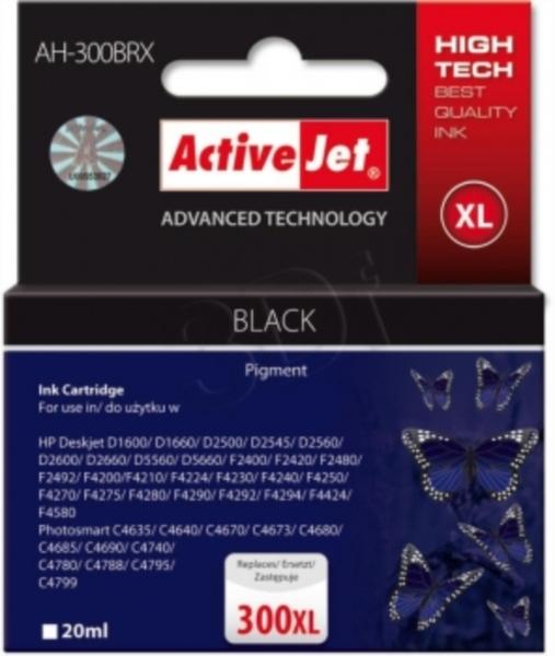 ActiveJet črno črnilo HP CC641 300XL