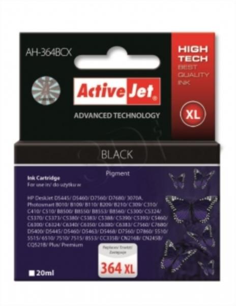 ActiveJet črno črnilo HP CN684 364XL