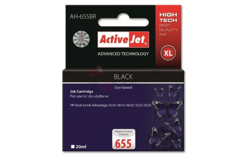 ActiveJet črno črnilo HP CZ109AE 655