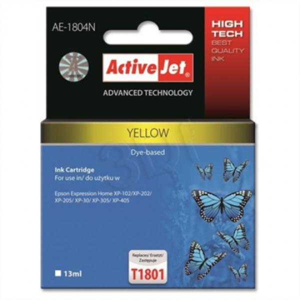 ActiveJet rumeno črnilo Epson T1804