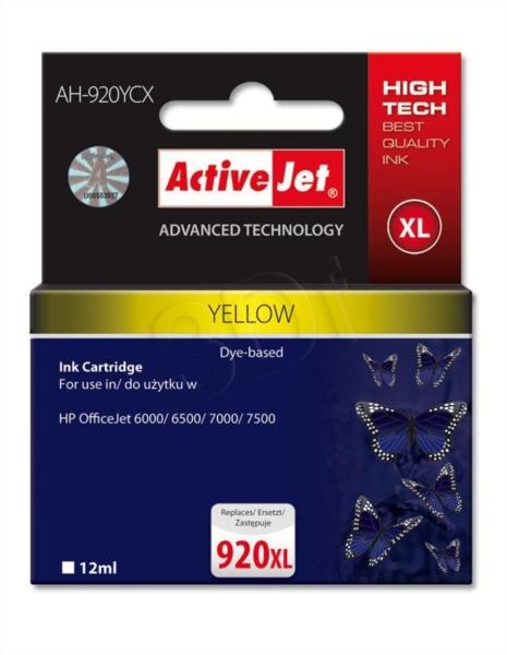 ActiveJet rumeno črnilo HP 920 XL