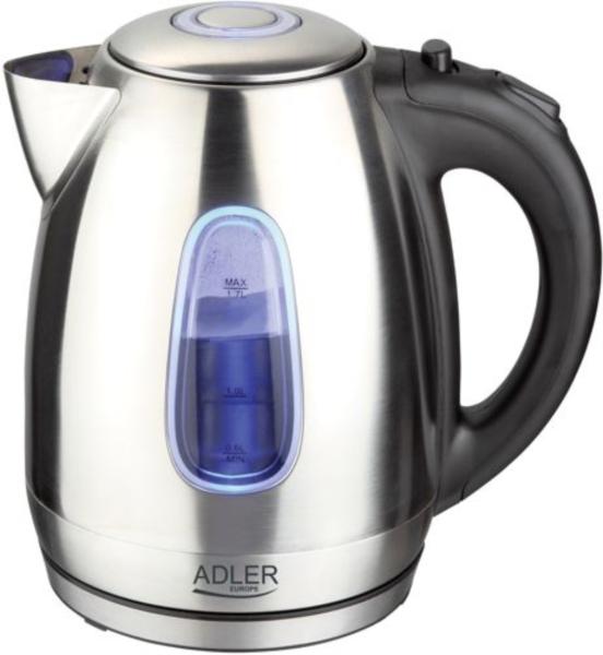 Adler grelnik vode 1,7 l 2000W jeklo