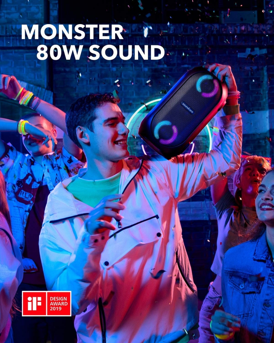 Anker Soundcore Rave Mini zvočnik 80W črn