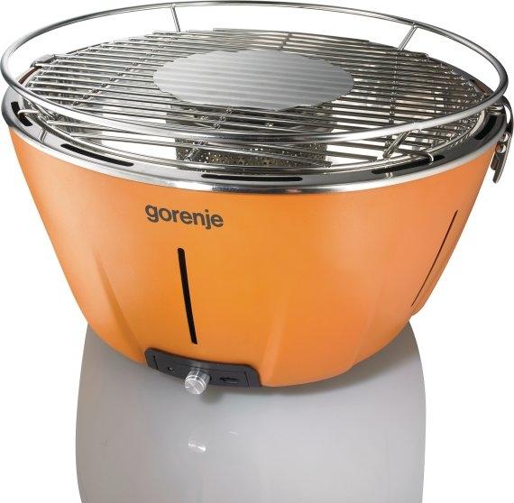 BARBYQ OY - Orange Žar na oglje