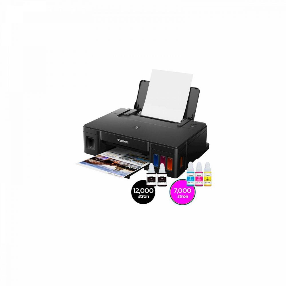 Brizgalni tiskalnik Canon Pixma G1411+GRATIS črno črnilo