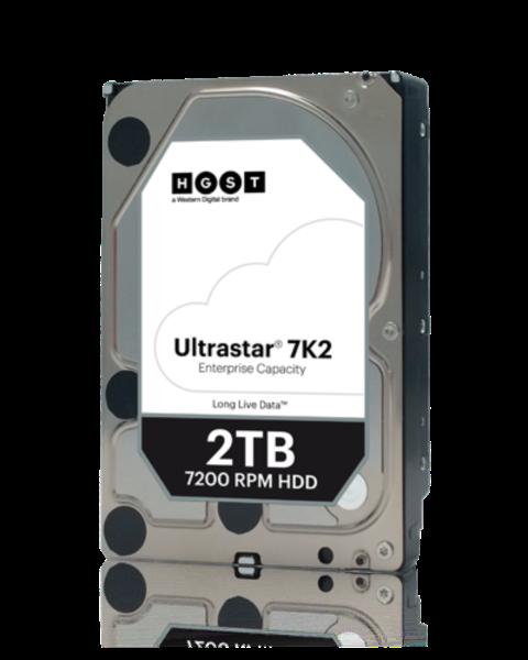 HGST/WD 2TB SATA 3 6GB/s 128MB 7200 ULTRASTAR 512n