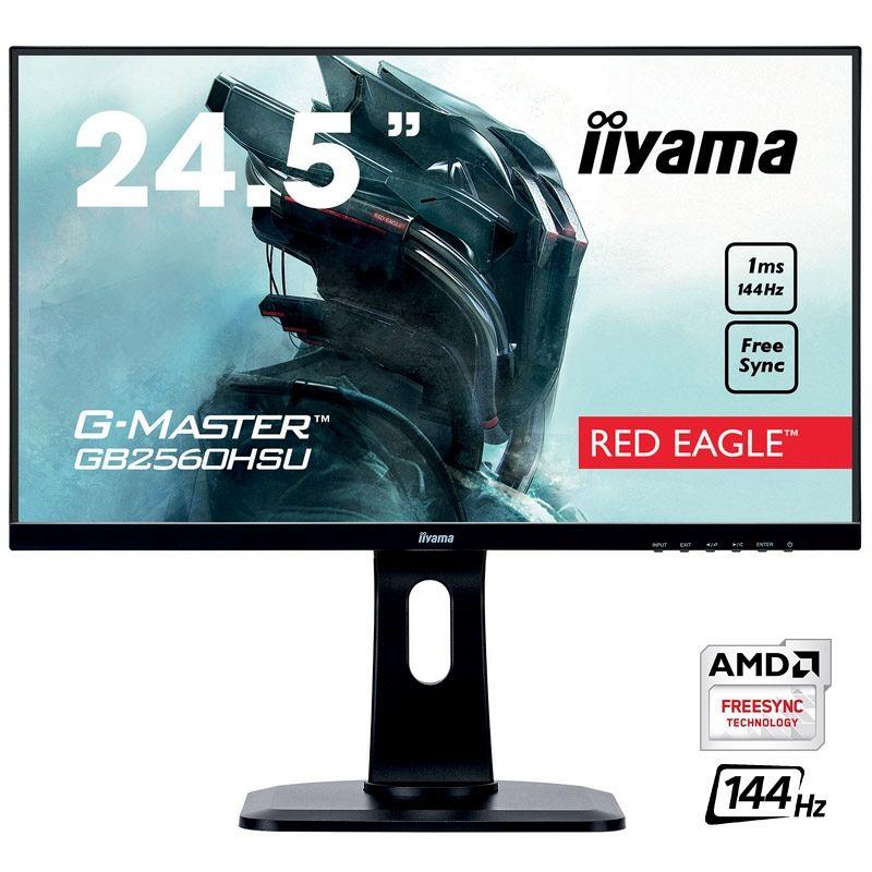 IIYAMA G-MASTER Red Eagle GB2560HSU-B1 62,2cm (24,5