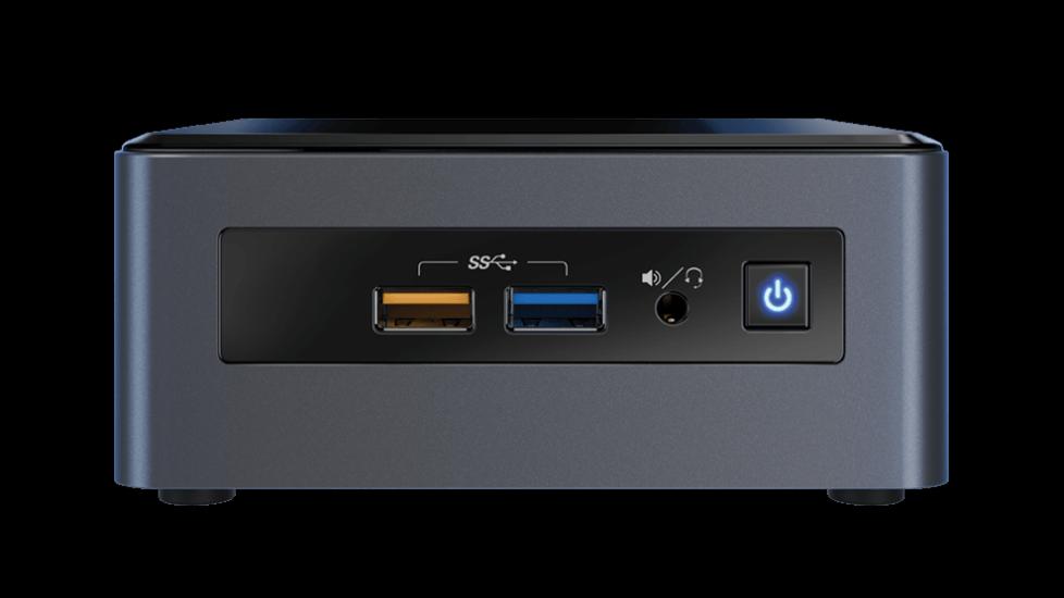Intel NUC mini računalnik - i3 / 4GB / 1TB HDD /  Windows 10 Home