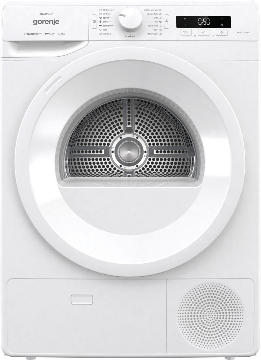 Kondenzacijski sušilnik perila s toplotno črpalko DE71