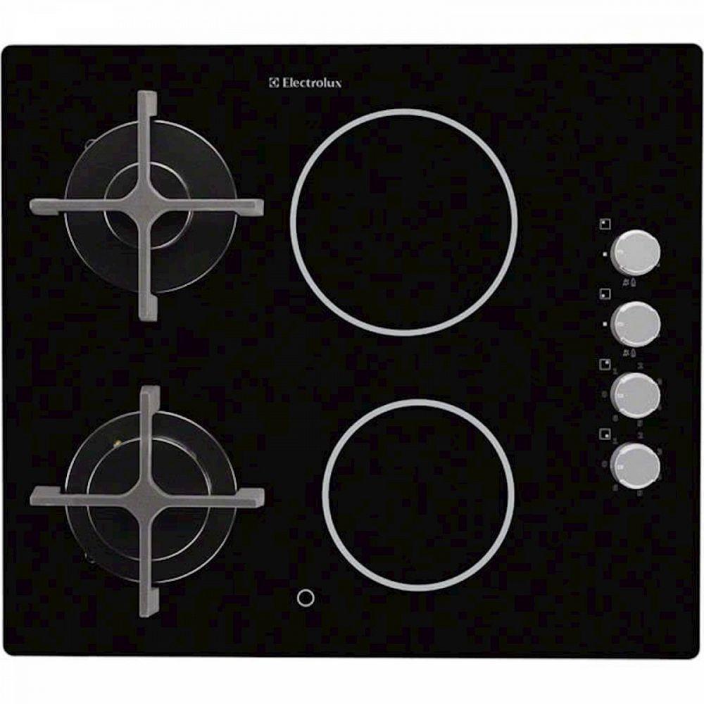 Kuhalna plošča ELECTROLUX EGE6172NOK steklokeramika+plin