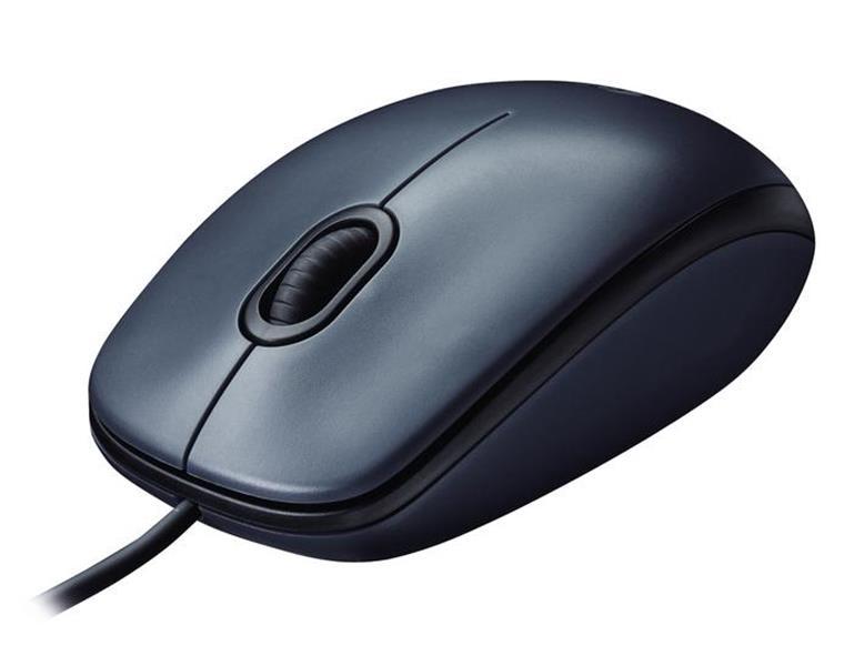 Logitech M100 optična miška, USB