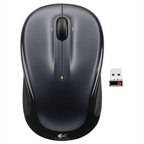 LOGITECH M325 brezžična miška, nano, črna