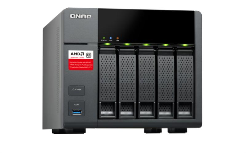 QNAP TS-563-2G NAS strežnik za 5 diskov