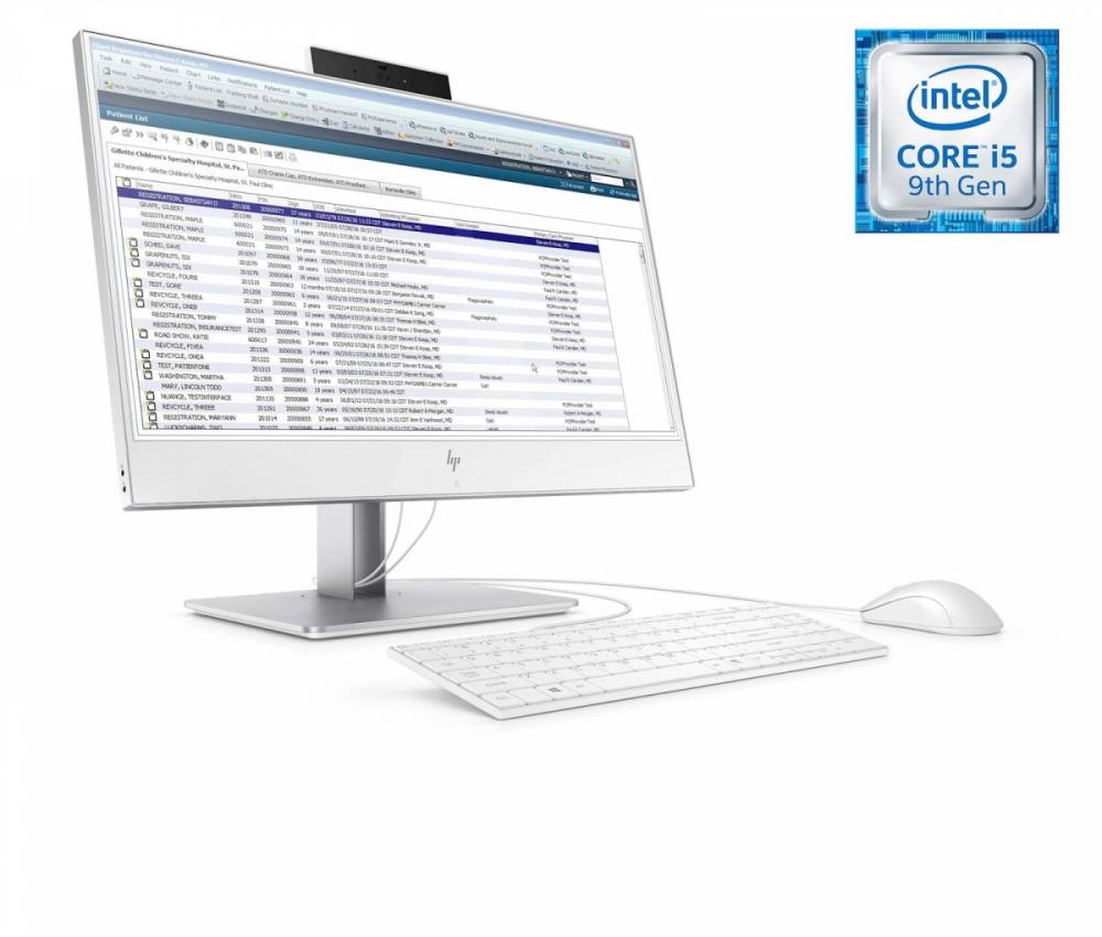 Računalnik HP EliteOne 800 G5 AIO i5-9500/16GB/SSD 512GB/23,8''FHD IPS Touch/Recline/W10Pro