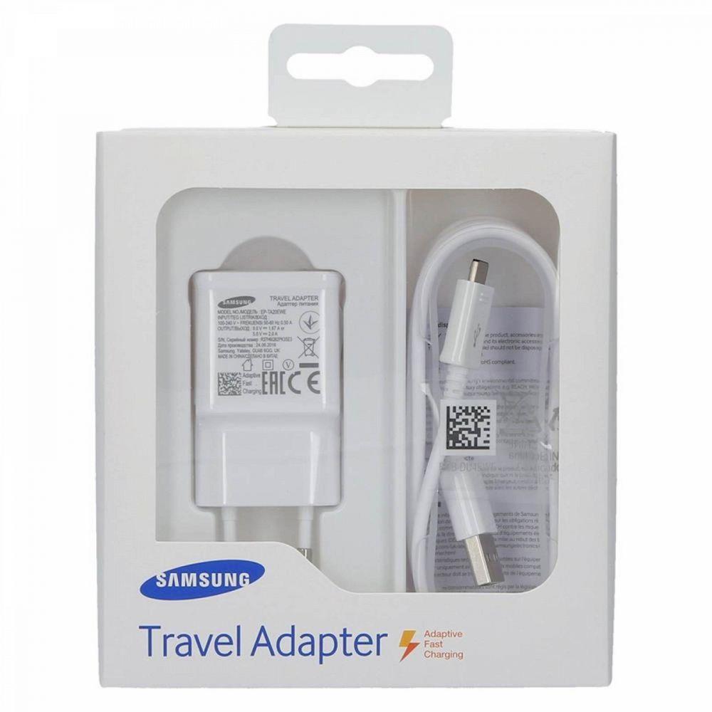 Samsung hitri potovalni polnilnik 220V & podatkovni kabel USB 2.0 microUSB 2A