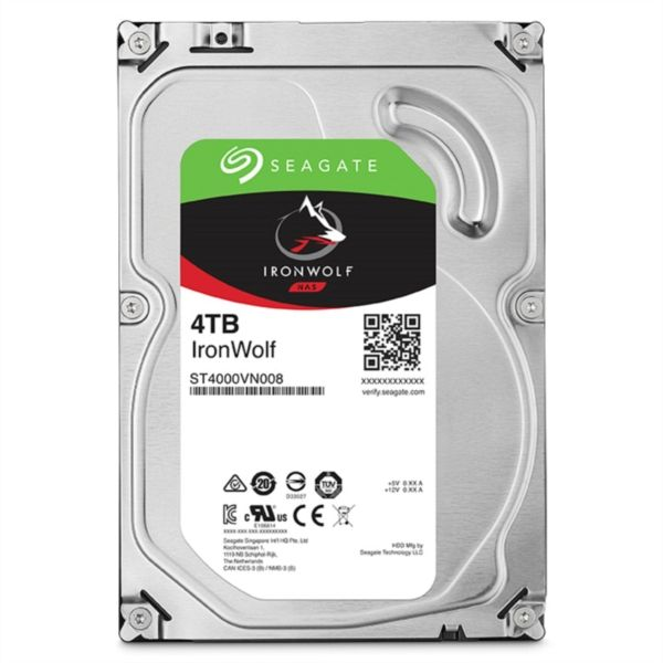Seagate NAS 4TB trdi disk SATA 3, 6Gb/s, 64MB IronWolf