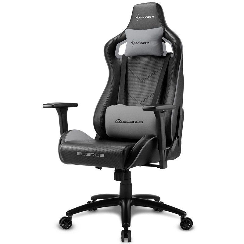 SHARKOON ELBRUS 2 črna/siva gaming stol