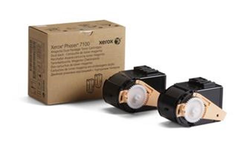 Toner magenta dvojno pakiranje Phaser 7100 za 9.000 za kopij