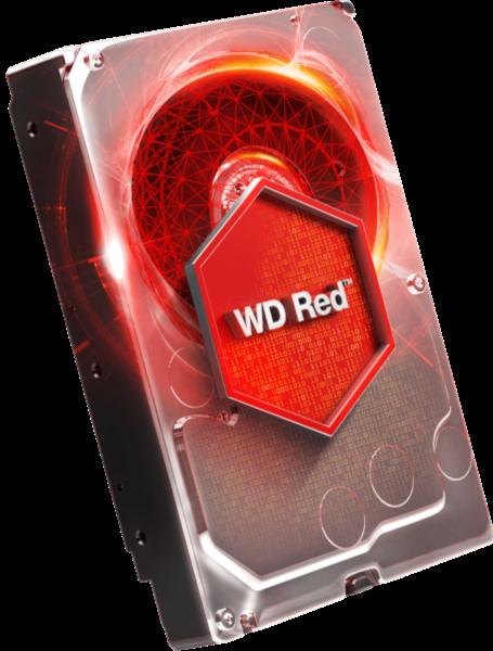 WD trdi disk 1TB SATA3, 6Gb/s, Intellipower, 64MB RED