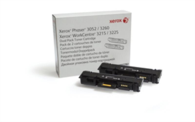 Xerox Toner, Ph3052/WC3215/WC3225, črna, 2*3k