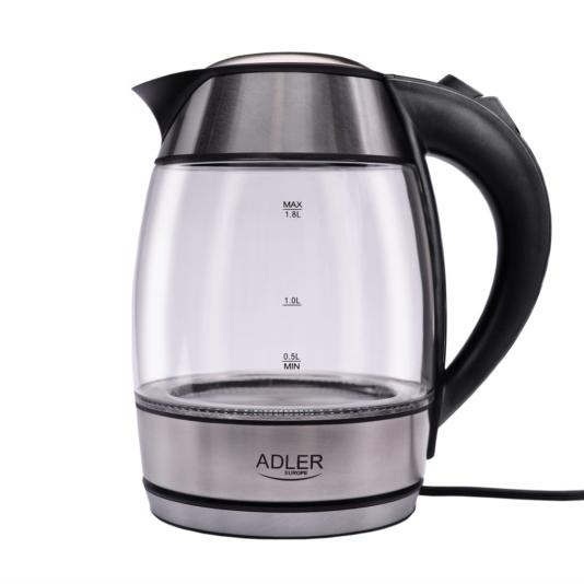 Adler grelnik vode 1.8L 2000 W steklen