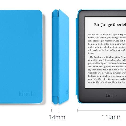 Amazon Kindle Kids Edition, 8 GB, WiFi, e-bralnik, moder