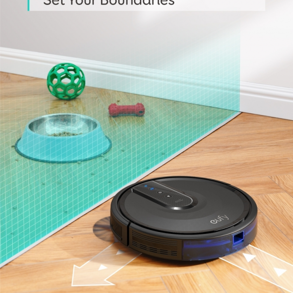Anker RoboVac 35C Wifi robotski sesalnik črn + DARILO: Eufy pametna WiFi nastavljiva LED sijalka