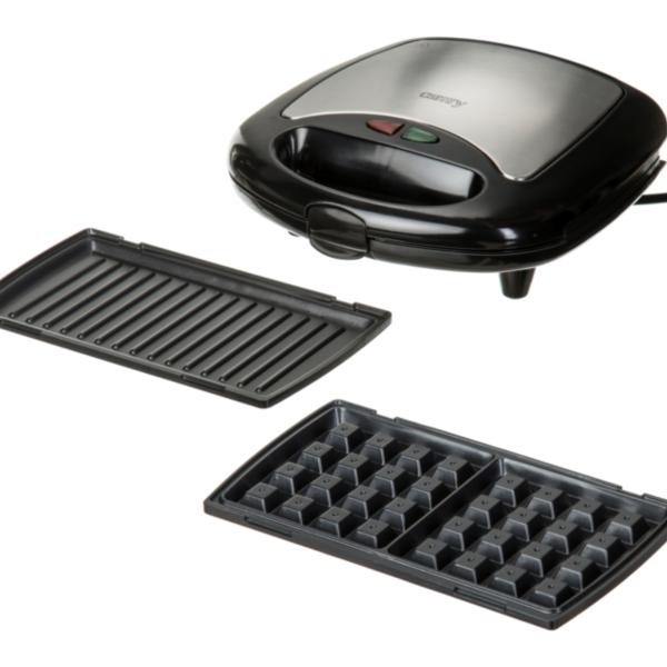 Camry toaster 3 v 1 730 W črn