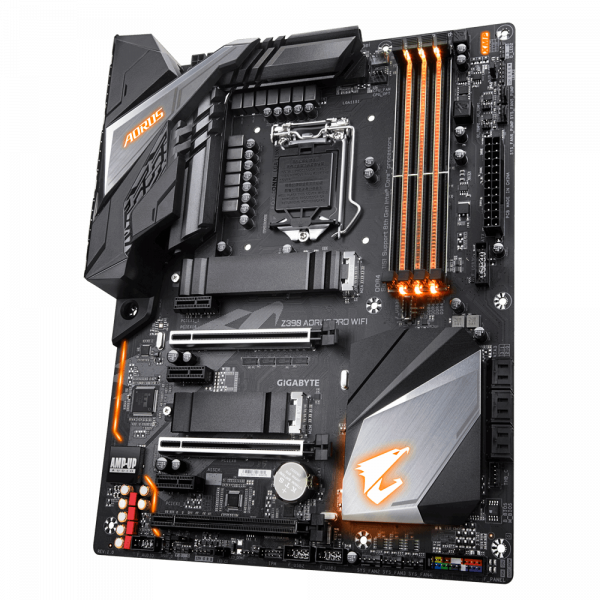 GIGABYTE Z390 AORUS PRO WIFI, DDR4, SATA3, USB3.1Gen2, HDMI, LGA1151 ATX