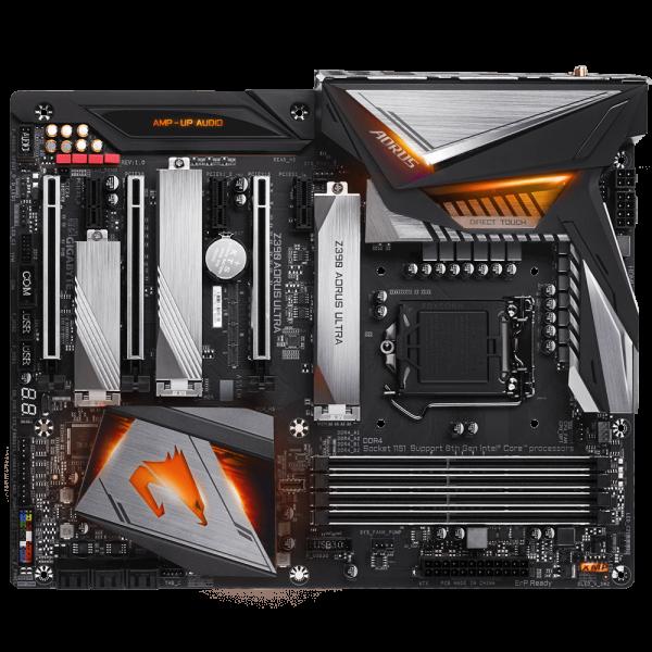 GIGABYTE Z390 AORUS ULTRA, DDR4, SATA3, USB3.1Gen2, HDMI, LGA1151 ATX