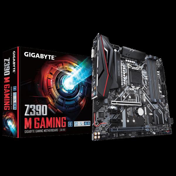 GIGABYTE Z390 M GAMING, DDR4, SATA3, USB3.1Gen2, HDMI, LGA1151 mATX