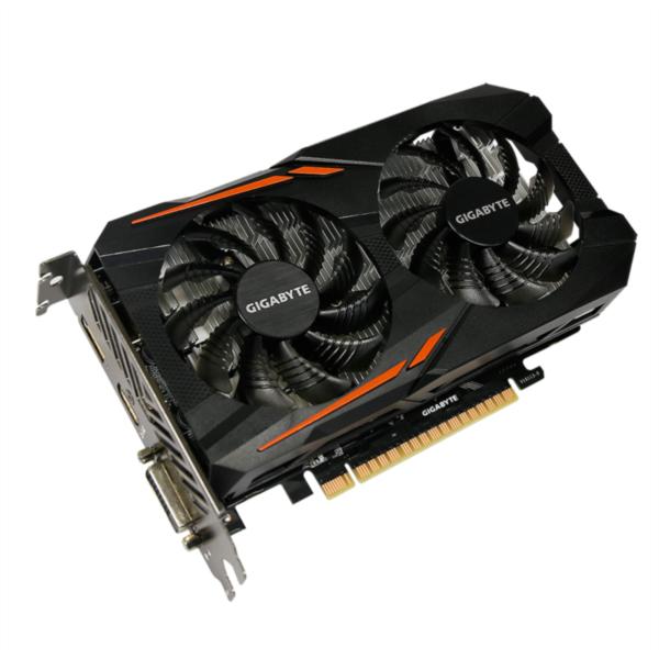 Grafična kartica GIGABYTE GeForce GTX 1050 Ti OC, 4GB GDDR5, PCI-E 3.0