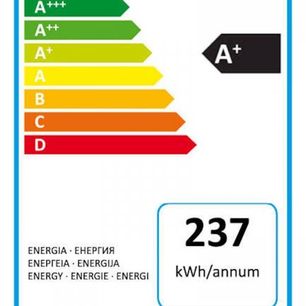 Hladilnik ELECTROLUX ENF2700AOX 168,7cm (176L hladilnik+61L zamrzovalnik)