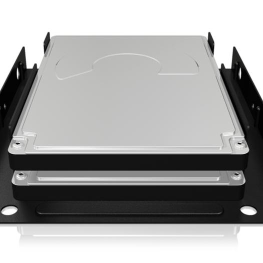 Icybox adapter za 2×SSD/HDD iz 2,5