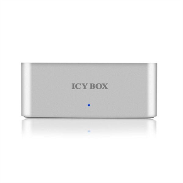 Icybox IB-111StU3-Wh Docking Station, 2.5